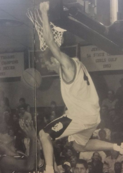 Matt Frazier was a star on the court during his time as a Trojan and earned himself a college basketball scholarship.