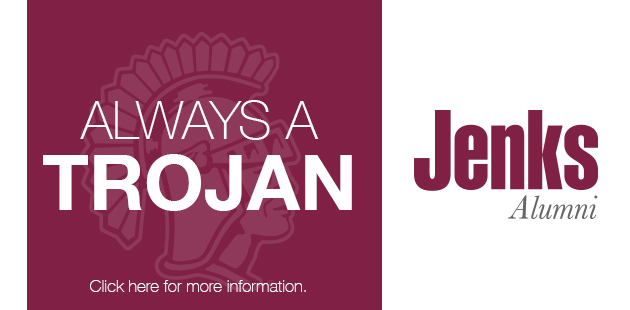 Click image and sign up to be part of Jenks High School Alumni Group.