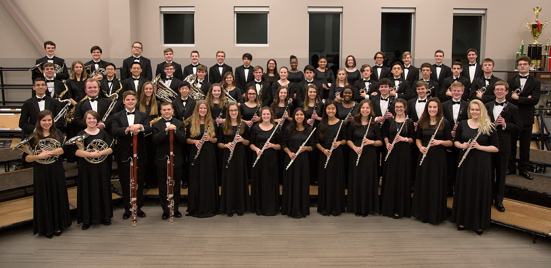 The JHS Wind Symphony is one of only 16 bands from around the nation to be selected as a featured band at the Music For All Festival.