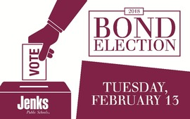 The 2018 JPS Bond Election is set for February 13 with two separate bond issues on the ballot totaling $14 million.