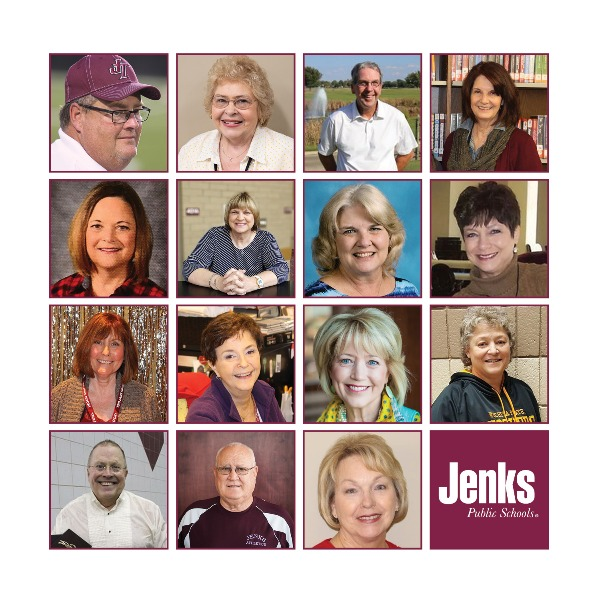 From the classrooms, to the offices, the playing fields, and everywhere in between, each one of these retiring employees left a lasting impact on Jenks Public Schools.
